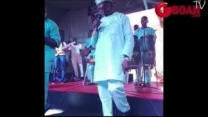 Video: King Sunny Ade Dazzle Fans At Pasuma